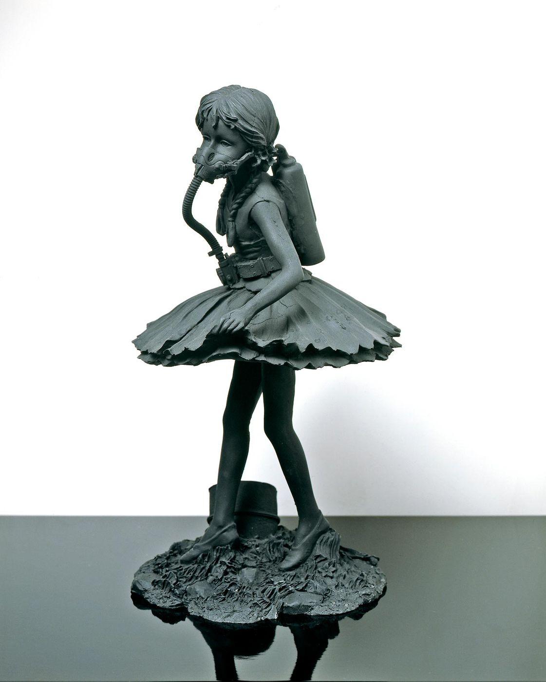 banksy fragile ballerina